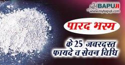 पारद भस्म के 25 जबरदस्त फायदे व सेवन विधि | Parad Bhasma Benefits in Hindi