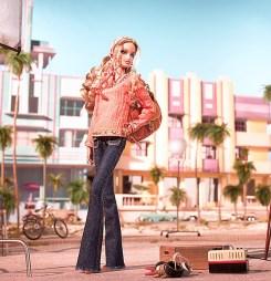 On Location: South Beach Barbie Doll | Crédito da imagem: divulgação www.barbiecollector.com / Mattel