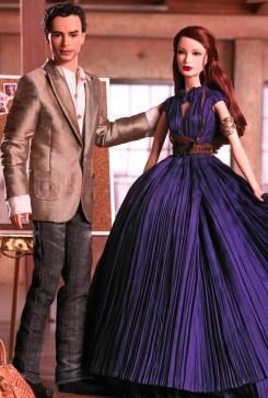 Zac Posen Barbie Doll and Ken Doll Giftset | Crédito da imagem: divulgação www.barbiecollector.com / Mattel