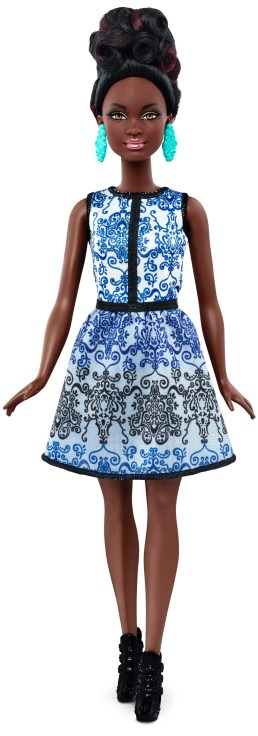Petite Blue Brocade   Crédito da imagem: divulgação Mattel   www.barbie.com