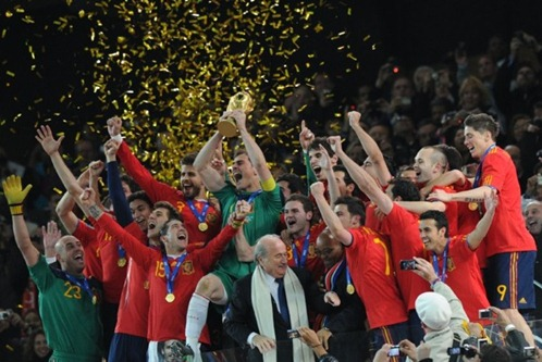 Spain - World Champions 2010 (soccer)