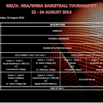 Tournament Day 1 Schedule
