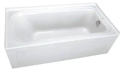 PROFLO PFS6042LSKWH 60 x 42 Alcove Soaking BathTub