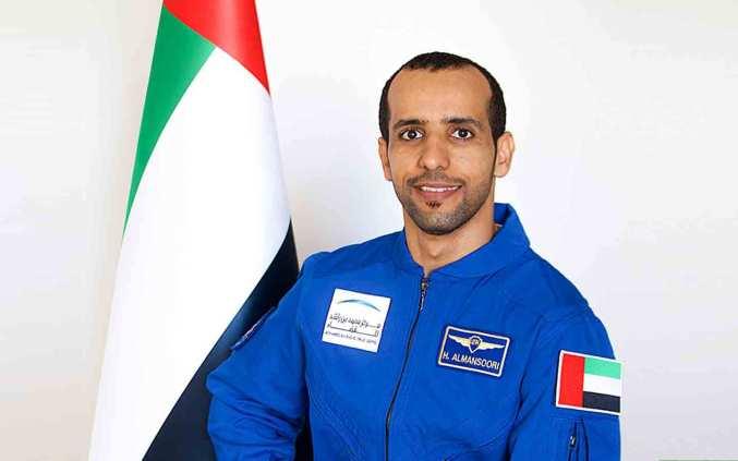 Hazza Al Mansouri - the first UAE astronaut