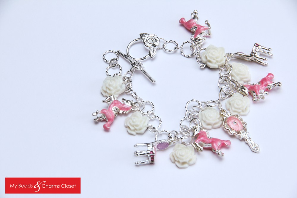 Princess Charm Bracelet (Pink) (2/2)