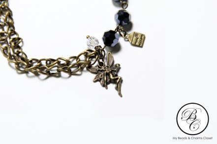 Dark Fairy Charm Bracelet #2 (Side 2)
