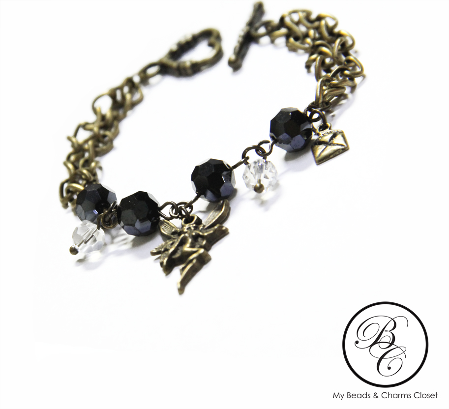 Dark Collection : Dark Fairy Series Charm Bracelet #1 (2/3)
