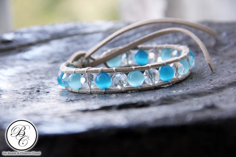 Earthly Faux Suede Lace Bracelet #BR0021S-0281 (3/4)