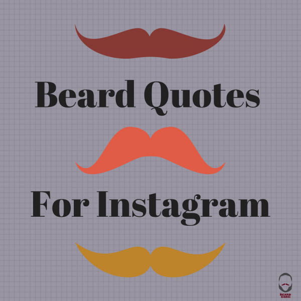 Beard Quotes For Instagram