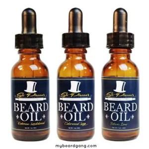 St Pierre Premium Beard Oil