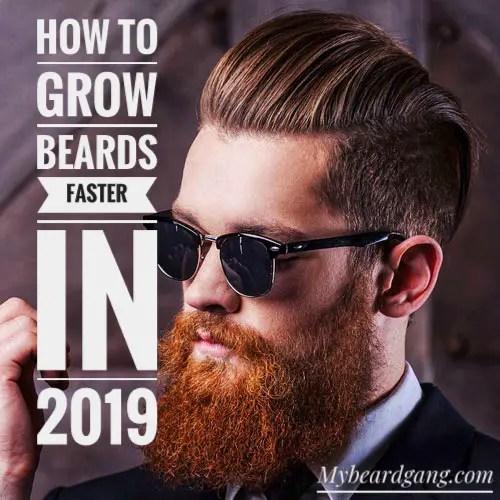 how to grow a long beard fast