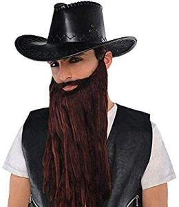 Halloween Costume with beard