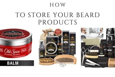 store your beard products