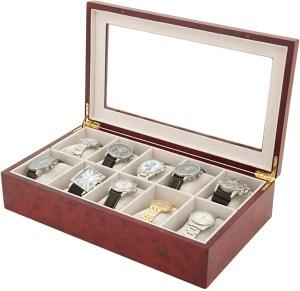 Men's Wooden Watch Box