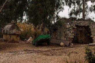 Nutzung der Ruinen