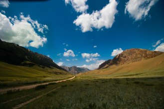 unterwegs nach Naryn