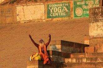 an den Ghats in Varanasi