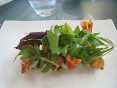 Crispy Deep Fried Tiger Prawns with Aioli and Gremolata
