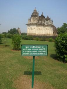 At the Khajahuro Temples