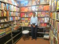 Mr Singh in the bookshop