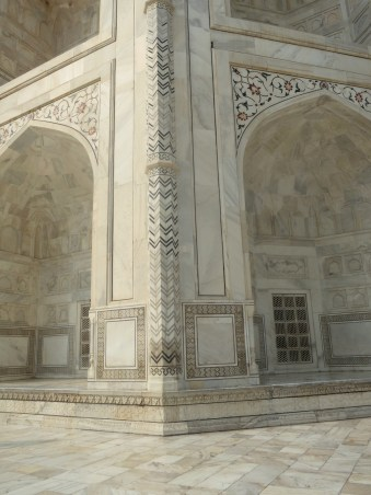 The beauty of the Taj Mahal