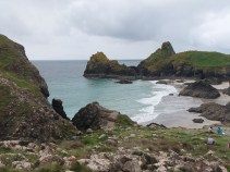 September 2012 - Kynance Cove, a favourite place for the family for many years.