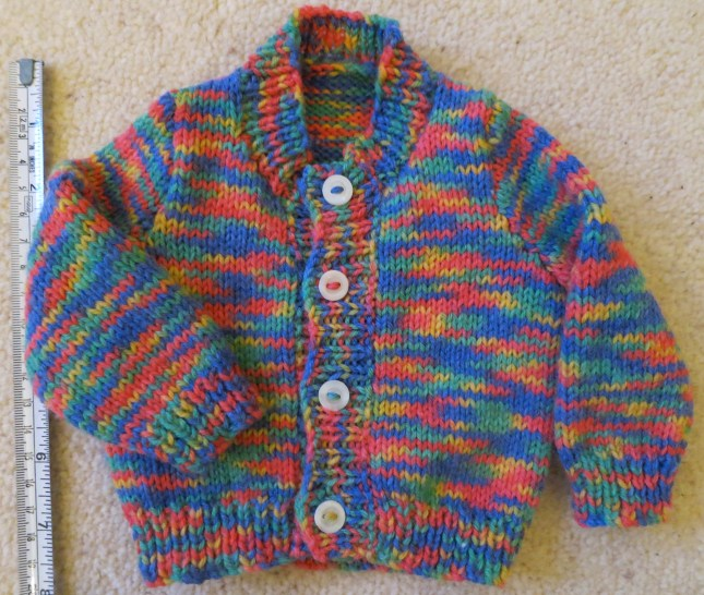 First size cardigan