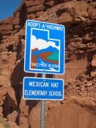Left Arizona, into Utah. Love the name