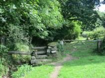 A gate, a stile and a bridge