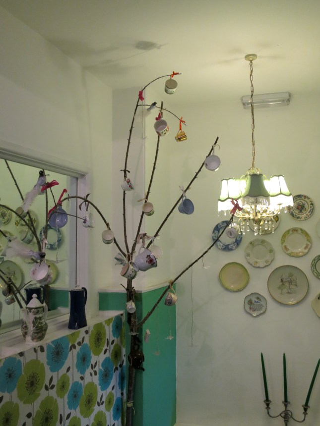 Inside the Tea Room