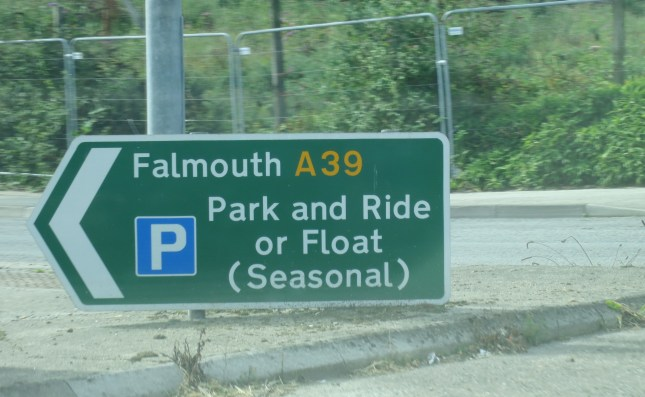 Park and float