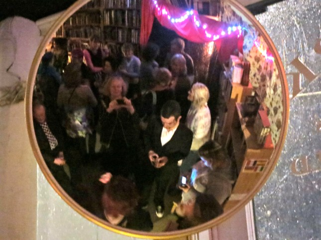 Guests at the Cabaret Party in Bookmark