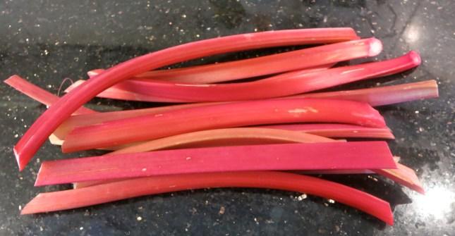 Beautiful rhubarb