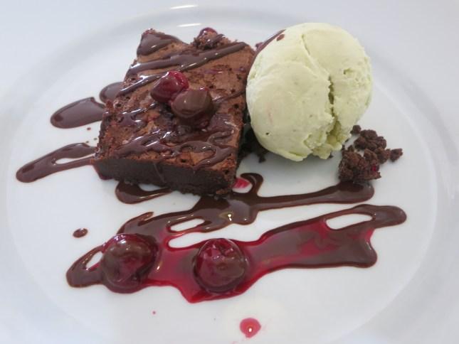 Dessert at The Square, Porthleven
