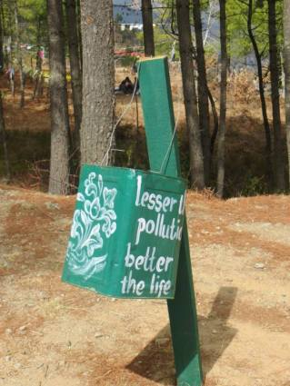 Lesser pollution, better life