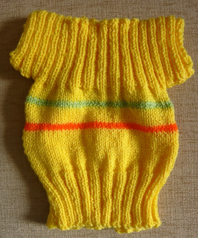 T's beautiful little baby sweater