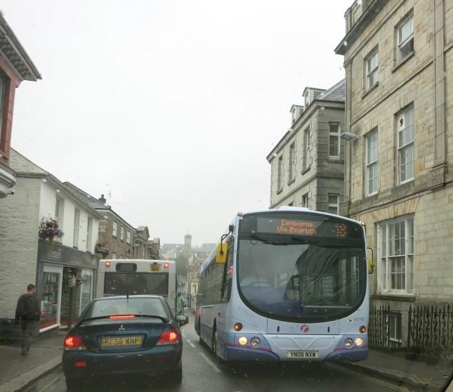 Smiley Cornish buses