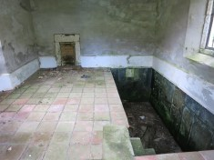 Inside the bath house