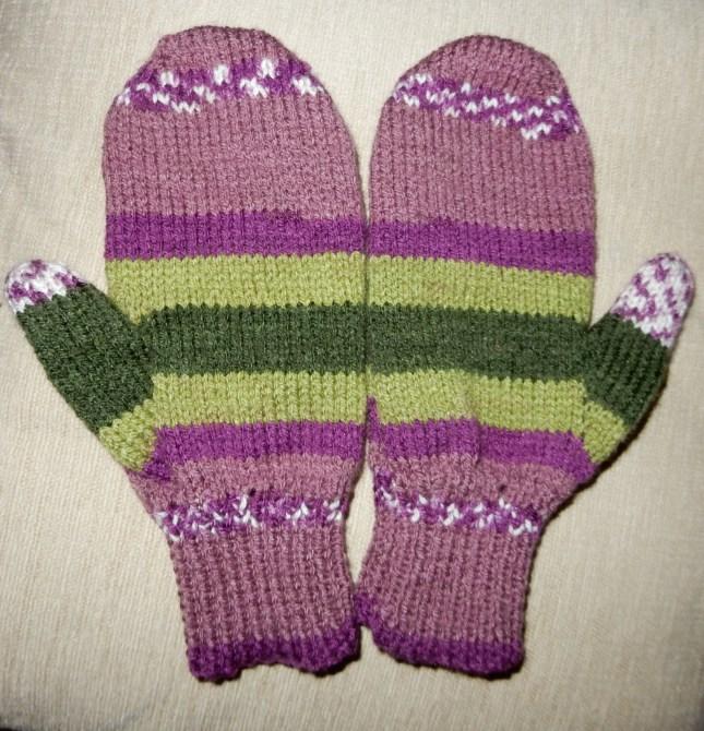 My new mittens