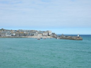 St Ives as we were walking from the station