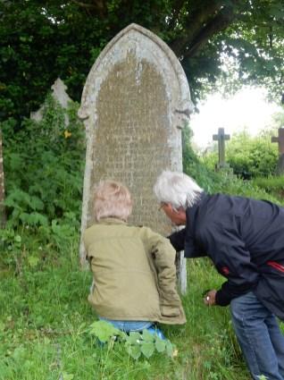 Examining the Martin Gravestone