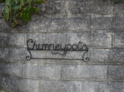 Chimneypots on Sunny Corner, Cusgarne where my Mum and Dad used to live