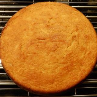 Lemon and Apple Ricotta cake