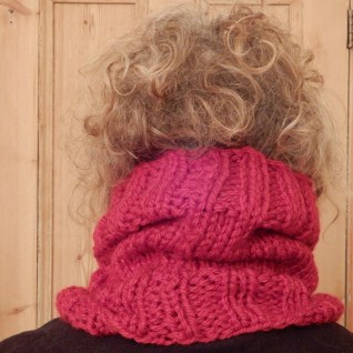 Modelling a snood!
