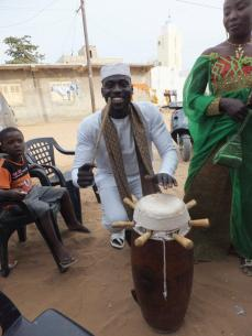 Drumming welcome