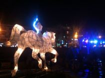Windhorse in Clocktower Square, Thimpu