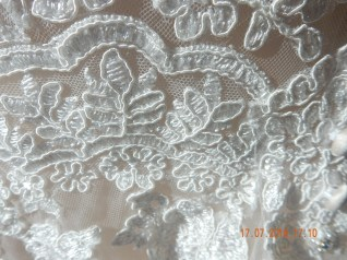 Detail of the lovely embroidery