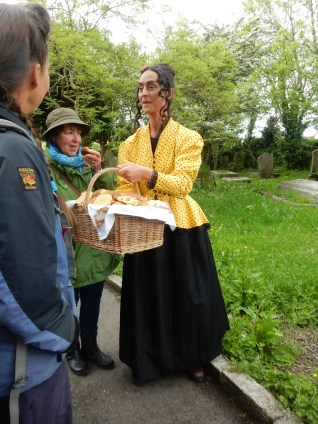 Misri, our Guide handing out the Saffron buns