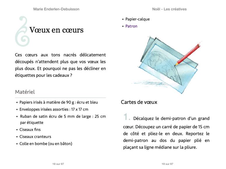 « Noël – Les créatives » -Marie Enderlen-Debuisson – Fleurus éditions