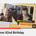 Thumbnail Homer Speer 82nd Birthday